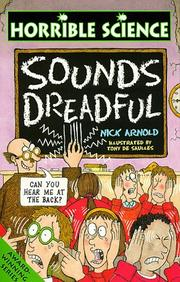 Cover of: Sounds Dreadful (Horrible Science)