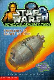 Cover of: Emergency in Escape Pod Four (Star Wars: Science Adventures)