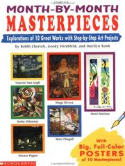 Cover of: Month-by-Month Masterpieces (Grades 2-6) | Bobbi Chertok