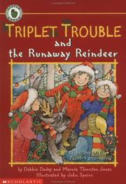 Cover of: Triplet Trouble and the Runaway Reindeer (Triplet Trouble) | Debbie Dadey