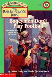 Cover of: Bogeymen Don't Play Football