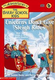 Cover of: Unicorns Don't Give Sleigh Rides