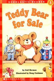 Cover of: Teddy Bear for Sale
