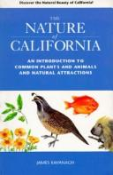 Cover of: The nature of California | James Kavanagh