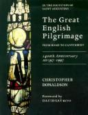 Cover of: The great English pilgrimage