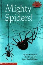 Cover of: Mighty spiders!: Level 2