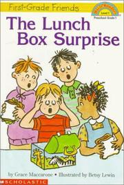 Cover of: The lunch box surprise | Grace Maccarone