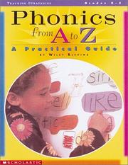 Cover of: Phonics from A to Z (Grades K-3) | Wiley Blevins