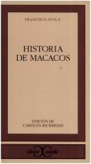 Cover of: Historia de macacos