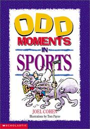 Cover of: Odd Moments in Sports