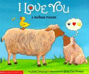 Cover of: I love you: a rebus poem