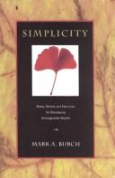 Cover of: Simplicity | Mark A. Burch