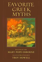 Cover of: Favorite Greek Myths