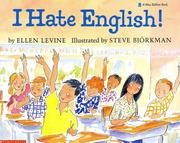 Cover of: I Hate English! (A Blue Ribbon Book)