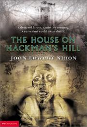Cover of: House on Hackman's Hill