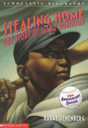 Stealing Home by Barry Denenberg