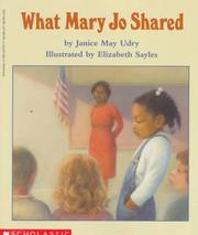 Cover of: What Mary Jo Shared