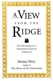 Cover of: A View from the Ridge