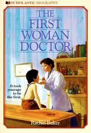 Cover of: The First Woman Doctor