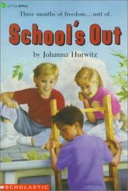 Cover of: School's Out