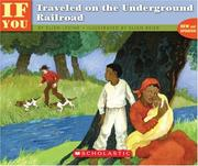 Cover of: . . . If You Traveled on the Underground Railroad | Ellen Levine, Larry Johnson