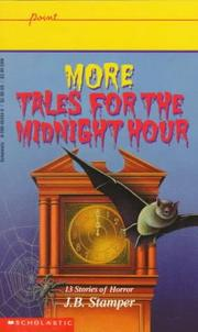 More Tales for the Midnight Hour (Point)