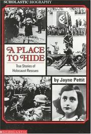 Cover of: A place to hide