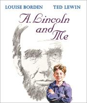 Cover of: A. Lincoln and Me