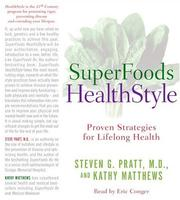 Cover of: SuperFoods Audio Collection CD | Steven G. Pratt