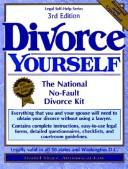 Cover of: Divorce yourself: the national no-fault divorce kit