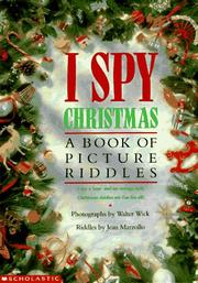 Cover of: I Spy Christmas: A Book of Picture Riddles
