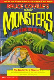 Cover of: Bruce Coville's Book of Monsters: Tales to Give You the Creeps