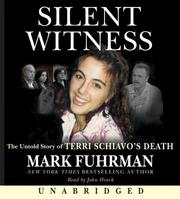 Cover of: Silent Witness CD: The Untold Story of Terri Schiavo's Death