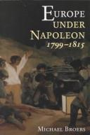 Cover of: Europe under Napoleon 1799-1815