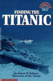 Cover of: Finding the Titanic