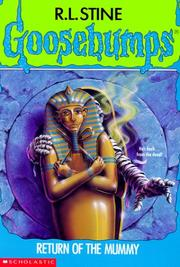Cover of: Return of the mummy