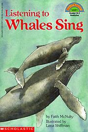 Cover of: Listening to whales sing