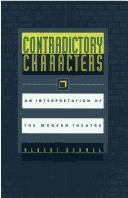 Cover of: Contradictory characters