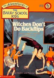 Cover of: Witches Don't Do Backflips