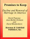 Cover of: Promises to keep