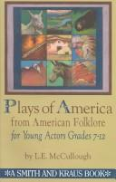 Cover of: Plays of America from American folklore for children