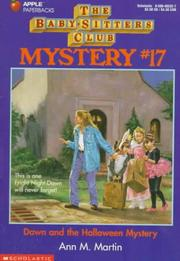 Cover of: Dawn and the Halloween mystery | Ann M. Martin