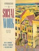 Cover of: Introduction to social work | Rex Austin Skidmore
