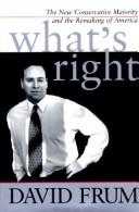 Cover of: What's right | David Frum
