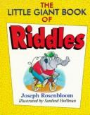 Cover of: The little giant book of riddles