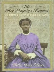 Cover of: At her majesty's request: an African princess in Victorian England