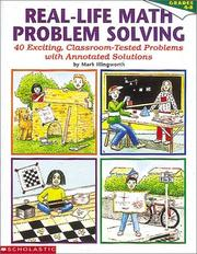 Cover of: Real-Life Math Problem Solving, Grades 4-8