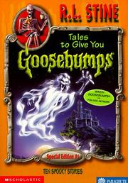 Cover of: Tales to Give You Goosebumps