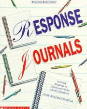Cover of: Response journals