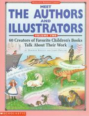 Cover of: Meet the authors and illustrators